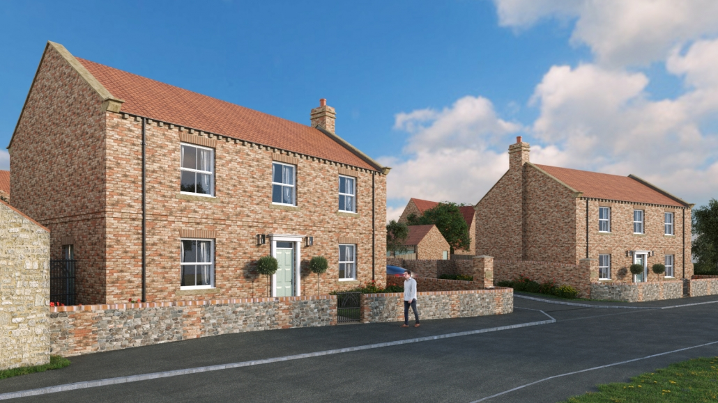 housing development in dishforth